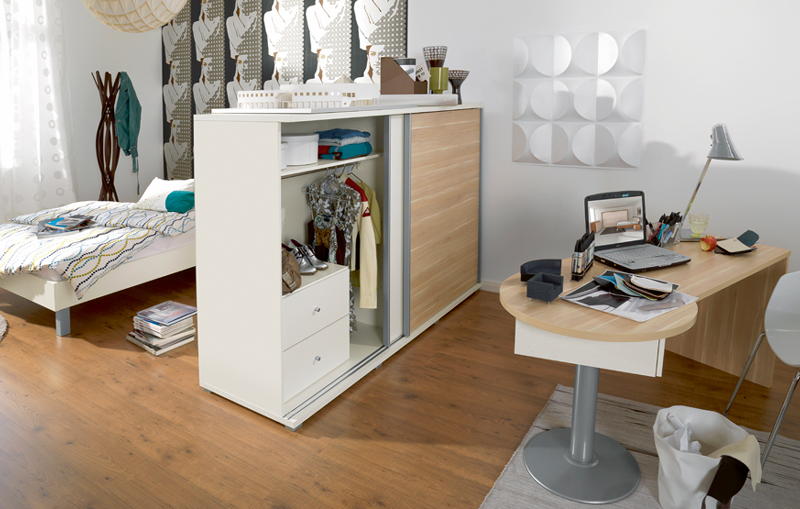wellem bel jugenzimmer tremo tamtam bett schrank schreibtisch neu modern top ebay. Black Bedroom Furniture Sets. Home Design Ideas