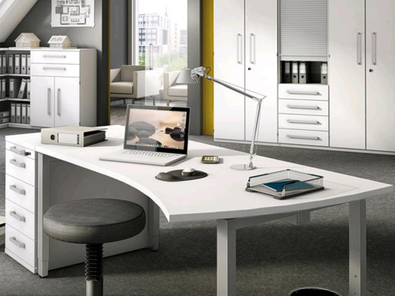 r hr bush techno b rosystem schreibtisch anstellcontainer. Black Bedroom Furniture Sets. Home Design Ideas