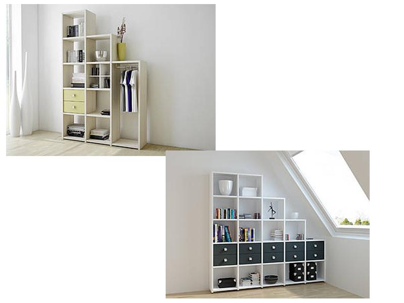 Wellemöbel Jugenzimmer Unlimited Regalsystem Regal Ausführung ...