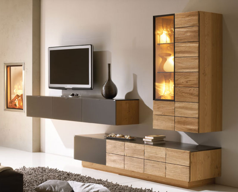 voglauer v montana vorschlag 170 wohnwand massivholz. Black Bedroom Furniture Sets. Home Design Ideas