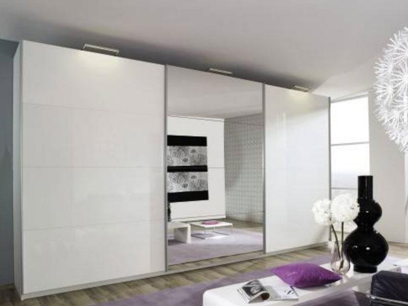 rauch select beluga base schwebet renschrank kleiderschrank spiegel gr e w hlba ebay. Black Bedroom Furniture Sets. Home Design Ideas