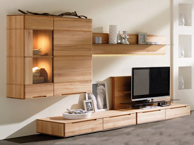 wohnwand voglauer v soft massivholz wohnzimmer g nstig. Black Bedroom Furniture Sets. Home Design Ideas