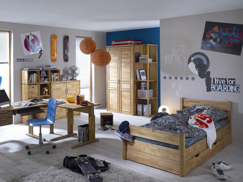 IMS Living Volo Jugendzimmer Kinderzimmer Schrank Bett ... | {Kinderzimmer jugendzimmer 9}