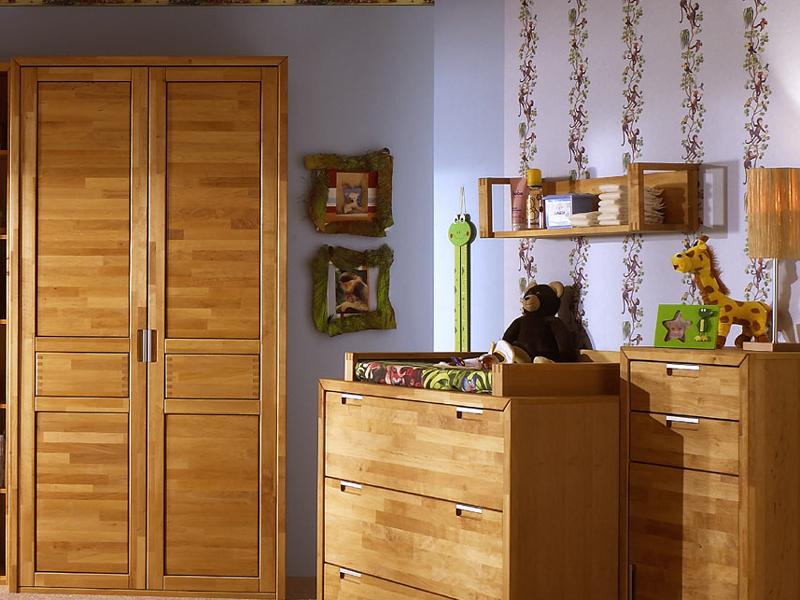 kinderzimmerschrank volo ims living kleiderschrank erle teilmassiv. Black Bedroom Furniture Sets. Home Design Ideas