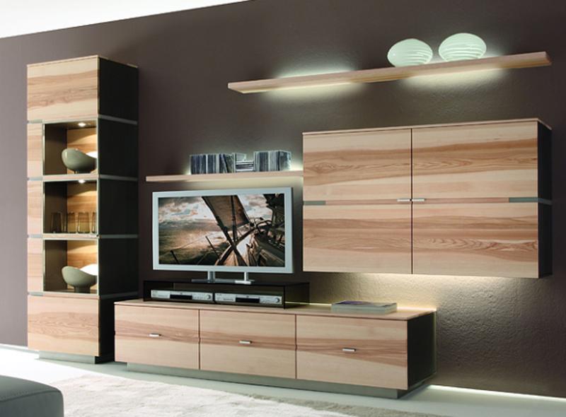 thielemeyer quadra wohnzimmer vorschlag 1 anbauwand wohnwand ausf hrung w hlbar ebay. Black Bedroom Furniture Sets. Home Design Ideas